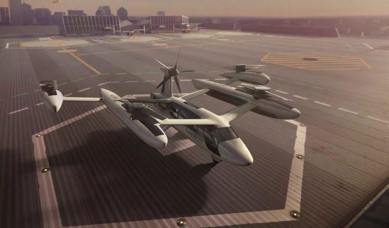 Uber: 2020 yılında uçan taksiler hazır olacak