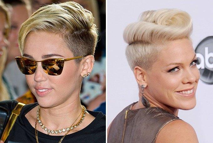 Ünlülerin marjinal saç modelleri
