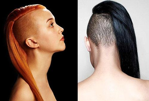 Cesret isteyen kadın saç modelleri