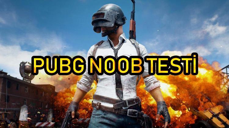 PUBG Mobile Noob Testi | Teste gir acemi olmadığını kanıtla!
