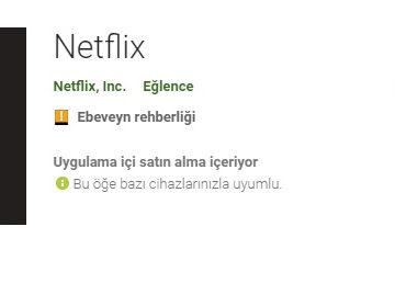 Play Store'da Netflix Yok Sorunu ve Çözümü