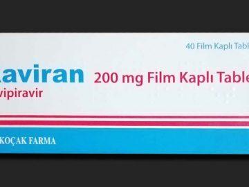 Raviran Favipiravir 200 mg Film Kaplı Tablet
