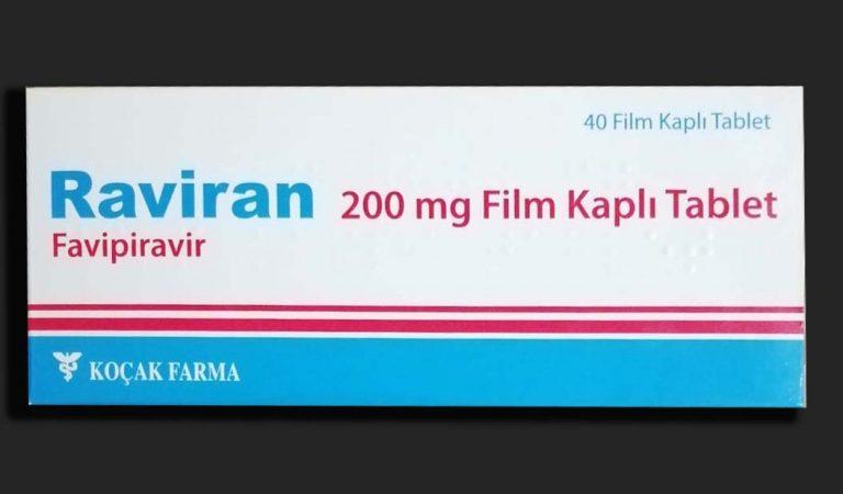 Raviran | Favipiravir | 200 mg Film Kaplı Tablet
